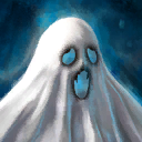 Mini Spooky Ghost