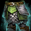 Cavalier's Banded Legs