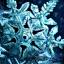 Makellose Schneeflocke