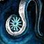 Snowflake Silver Earring