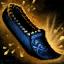 Sandalias bordadas de donador