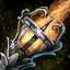Torche krytienne cavalière