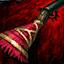 Lance-harpon de cérémonie enragé