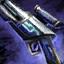 Pistolet glyphique cavalier