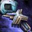 Sceptre glyphique cavalier