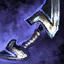 Arc court glyphique cavalier