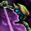 Arc verdoyant cavalier
