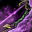 Arc court verdoyant cavalier
