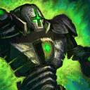 Minigólem de asedio verde