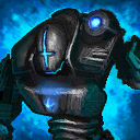 Mini Blue Siege Golem