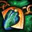 Azurit-Orichalcum-Amulett