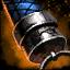 Empuñadura de daga de acero de Deldrimor