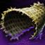 Panneau de gants de cuir élonien