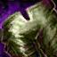 Panneau de pantalon de cuir élonien