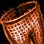 Doublure de jambières en acier de Deldrimor