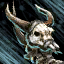 Tricorne du crâne divin assassin