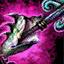 Lance-harpon de perles cavalier