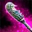 Couteau de perles chamanique