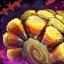 Candy Corn Cob