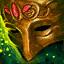 Maske Saphirs