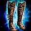 Triumphant Hero's Footgear