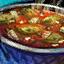 Bol de soupe au cactus
