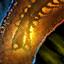 Ambrite Fossilized Centipede