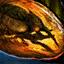 Moustique fossilisé dans l'ambrite