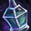 Fiole d'eau glaciaire sacrée