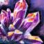 Cristal de sintonía abundante