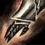 Finstere Drakonische Stulpenhandschuhe