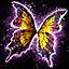 Ensemble sac à dos d'ailes de papillon