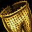 Doublure de jambières en orichalque huilées