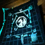 Plan de bannière de gain d'or de guilde
