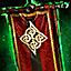 Gipfelflagge der Norn