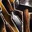 Outil de travail du bois pour arc court supérieur