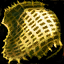 Doublure d'espauliers en orichalque huilés
