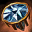 Bijou exquis en diamant noir
