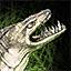 Schlangenstatue