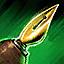 Orichalcum-Schreibfeder