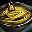 Schüssel mit Zitronengras-Miesmuschelpasta