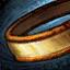 Wurzelholz-Orichalcum-Ring