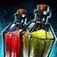 Fiole de sels de cadmium
