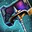 Dunkler Hammer