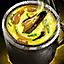 Schüssel mit Miesmuschelsuppe