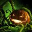 Stachelige Halloween-Laterne