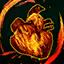Herz eines Feuer-Elementars
