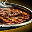 Bol de pâte de champignon