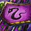 Viper's Intricate Gossamer Insignia