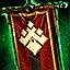 Gipfelflagge der Asura